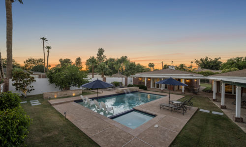 Luxury home for sale in north central Phoenix at 5706 N Central Ave